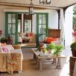 Выбор мебели для веранды