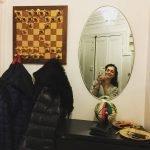 Шахматная доска на стене