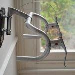 Вешалка из велосипедного руля