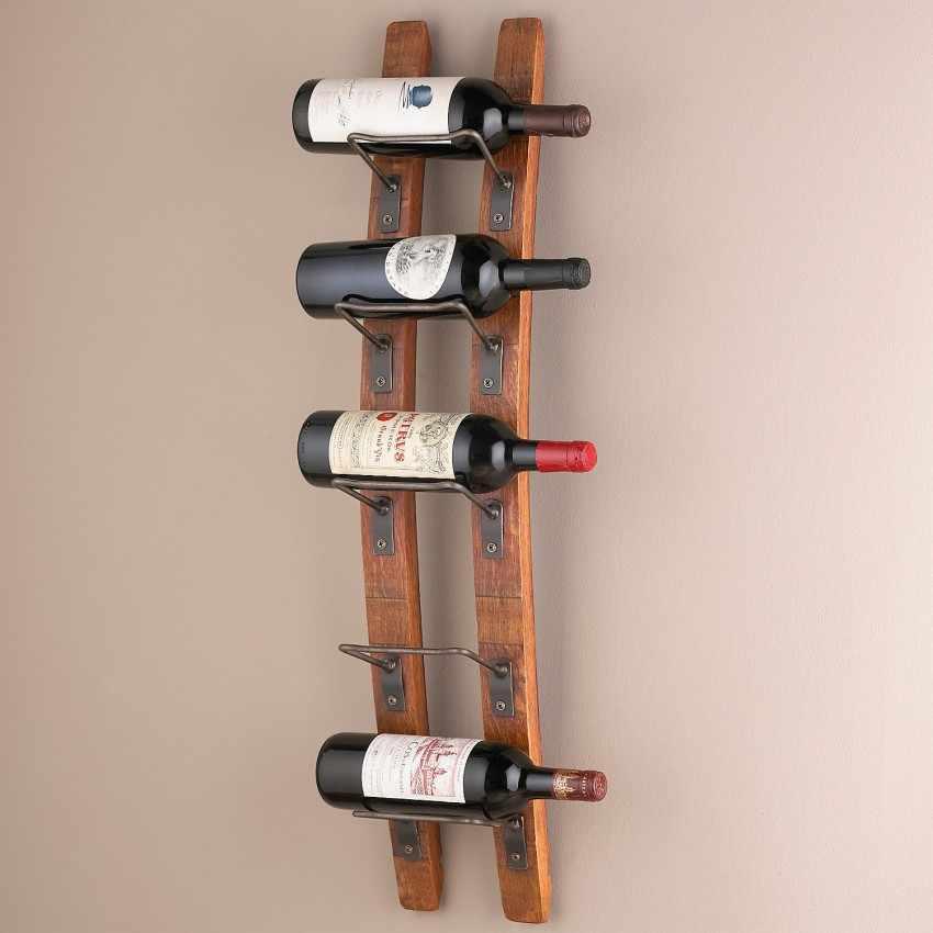 Вертикальная полка для вина