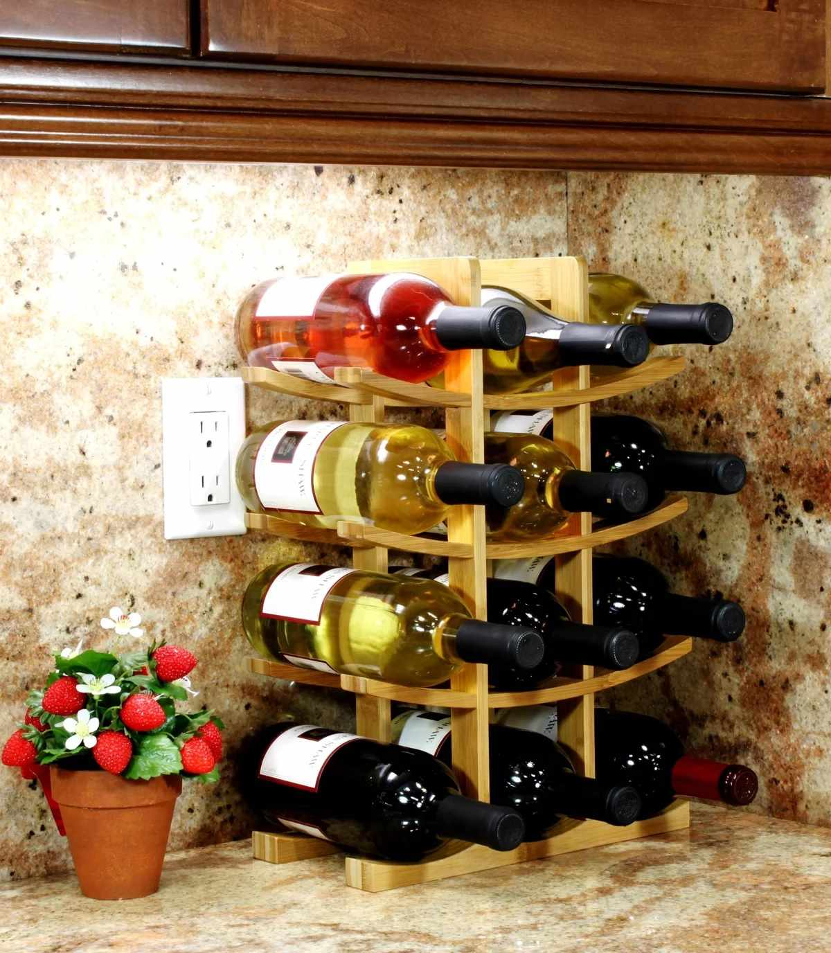 Готовая полка для вина