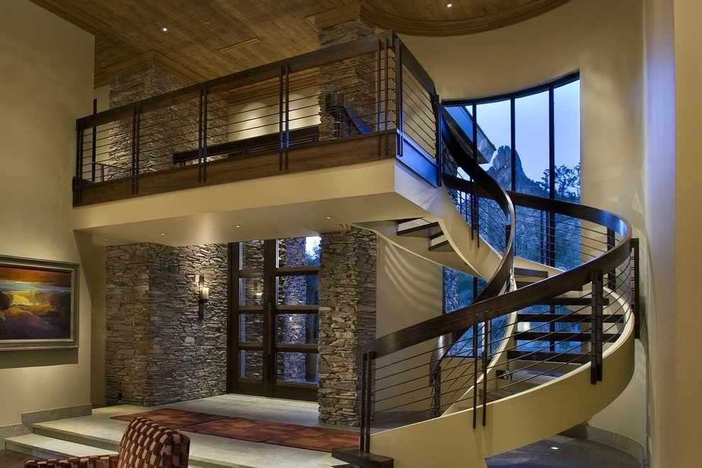 Комплектация винтовой лестницы