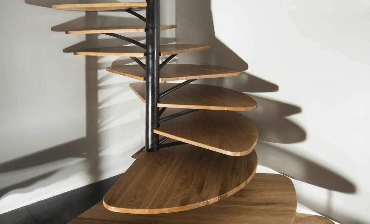 Детали винтовой лестницы