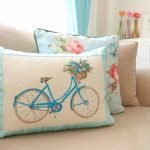 Велосипед на подушке