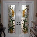 Стеклянные вставки в межкомнатных дверях