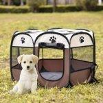 Будка-палатка для щенка