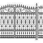 Орнаменты на ворота