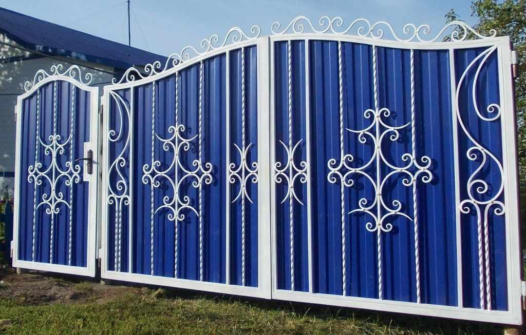 Синие ворота