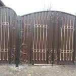 Вариант готовых ворот