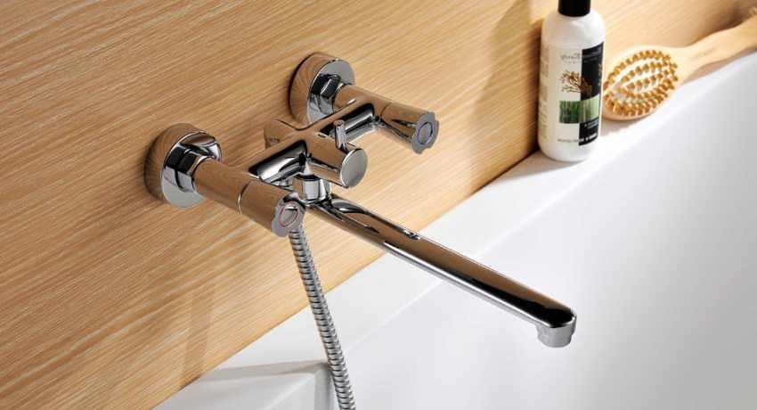 Высота смесителя в ванной
