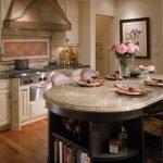 Интерьер кухни в винтажном стиле
