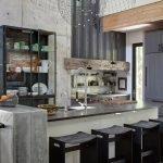 Интерьер на кухне в стиле лофт