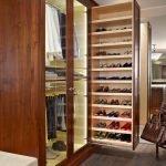 Полка для обуви до потолка