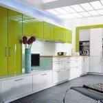 Двухцветная мебель в интерьере