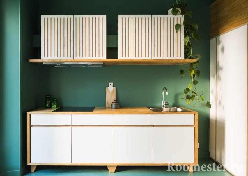 Оливковая мини-кухня