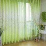 Зеленые занавески