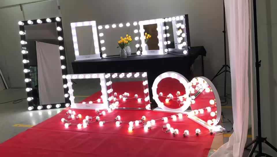 Разновидности зеркал с лампочками