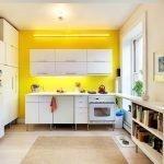 Коврик на кухонном полу