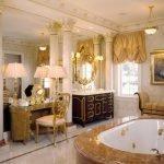 Ванная в особняке