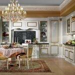 Декор кухни в стиле барокко