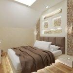 Бело-коричневое постельное белье