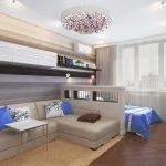 Зонирование спальни в квартире