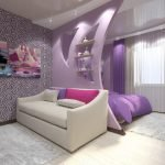 Женская спальня-гостиная